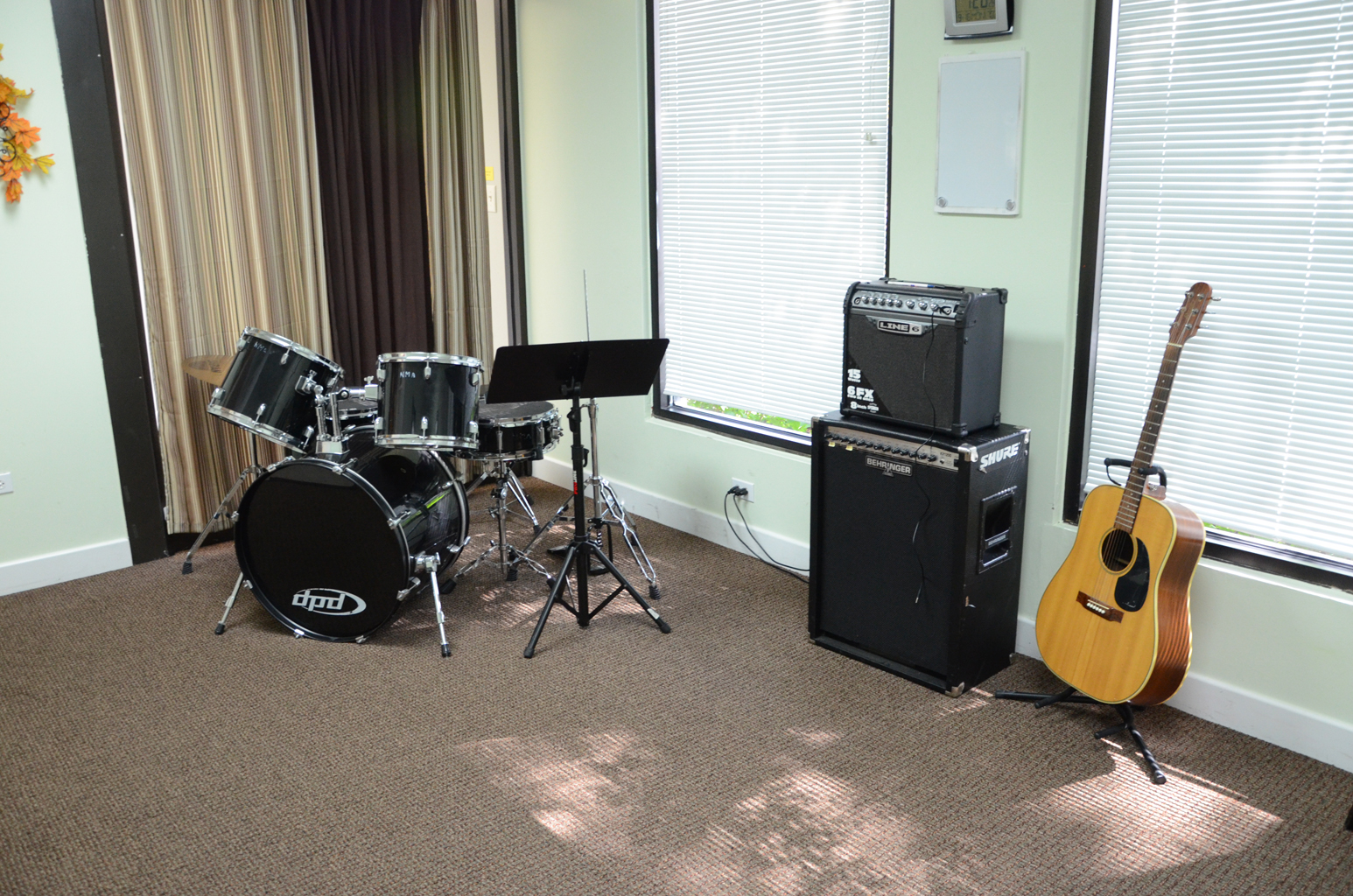 Drum Studio at Naperville Music Academy